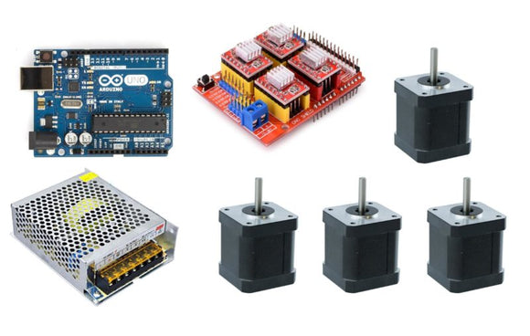 3 Axis Arduino Starter Kit With Power Supply - Gadgitech Trading