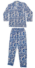 Load image into Gallery viewer, Maddie Hand-Printed  Indian Cotton Pyjamas