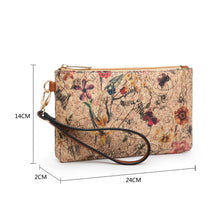 Load image into Gallery viewer, Sarah Cork Effect Clutch Purse
