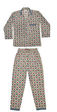 Load image into Gallery viewer, Charlotte Hand-Printed Indian Cotton Pjs