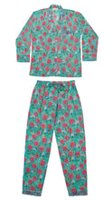 Load image into Gallery viewer, Grace Hand-Printed Indian Cotton Pjs