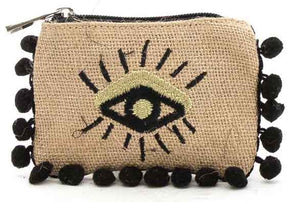 Boho Purse with eye design