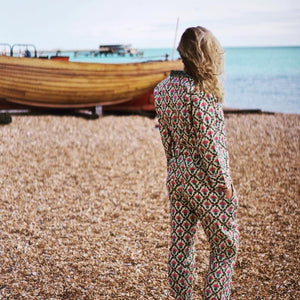 Charlotte Hand-Printed Indian Cotton Pjs