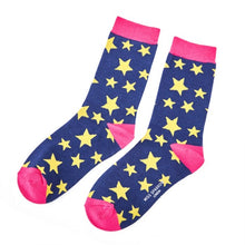 Load image into Gallery viewer, Starry Starry Bamboo Socks