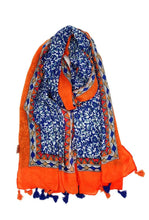 Load image into Gallery viewer, Leonie Provençal Print Tassel Scarf