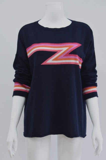 Ziggy Lightning Bolt Cashmere Mix Jumper