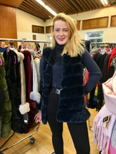 Load image into Gallery viewer, Bianca Luxury Longline Faux Fur Gilet