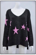 Load image into Gallery viewer, Viola Wool Mix Star Sweater