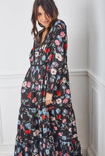 Load image into Gallery viewer, Samantha Floral Empire Line Maxi Dress