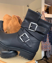 Load image into Gallery viewer, Lara Buckled Biker Boot