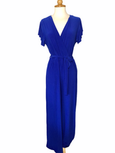 Load image into Gallery viewer, Thelma Faux Wrap Jumpsuit