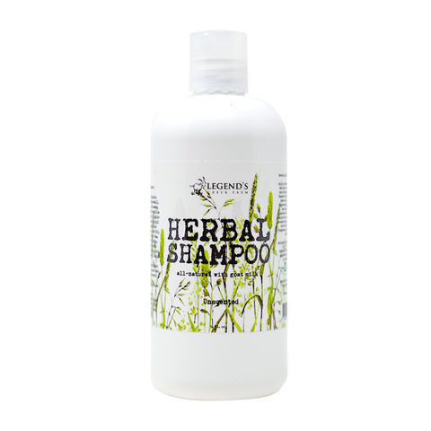 Image of Unscented Herbal Goat Milk Shampoo