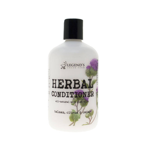 Balsam, Citrus & Cedar Herbal Goat Milk Conditioner