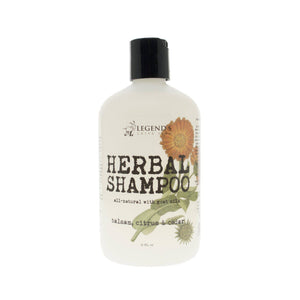 Balsam, Citrus & Cedar Herbal Goat Milk Shampoo