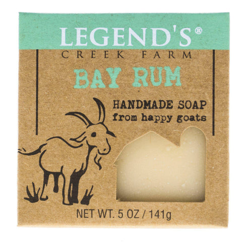 Image of Bay Rum Goat Milk Soap