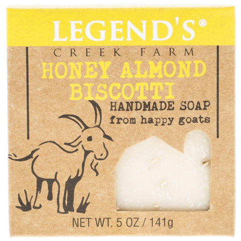 Honey Almond Biscotti Goat Milk Soap