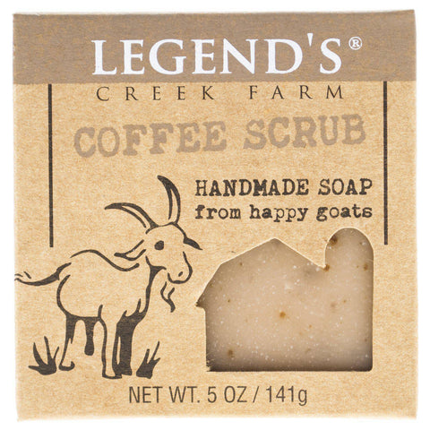 Image of Coffee Scrub Goat Milk Soap