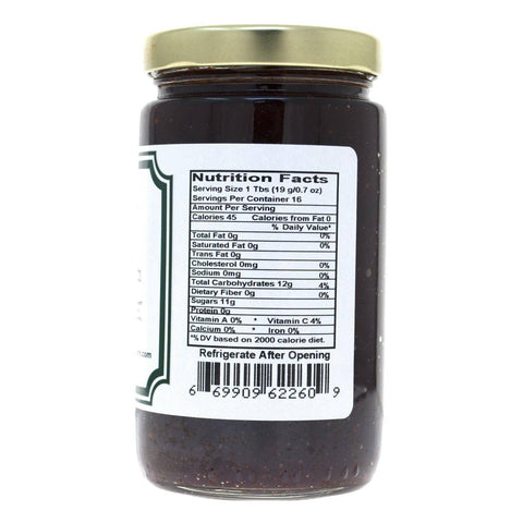 Image of Cranberry Bourbon Jalapeno Jam - Nutritional