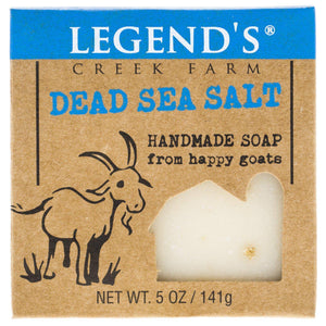 Dead Sea Salt Goat Milk Soap