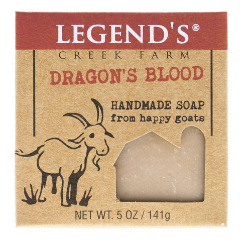 Dragon's Blood Goat Milk Soap