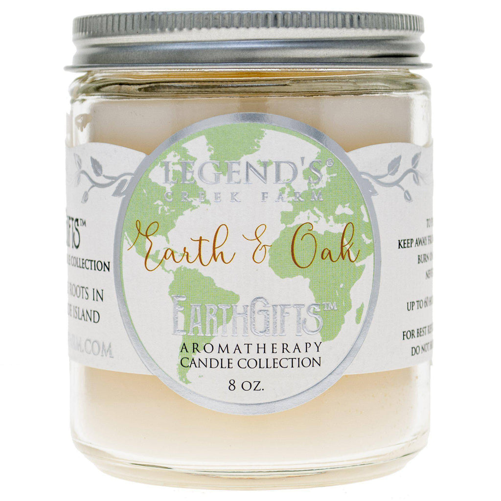 Earth and Oak Aromatherapy Candle