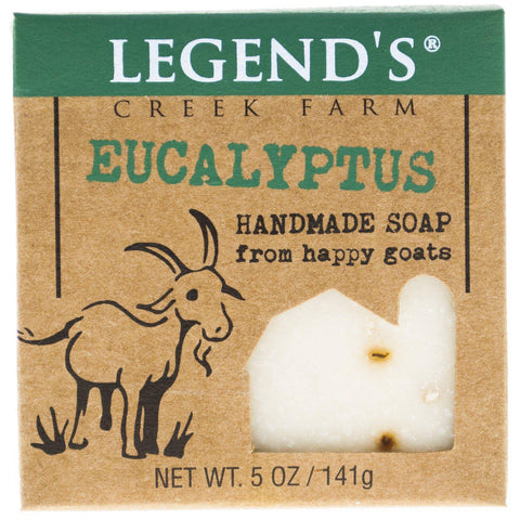Image of Eucalyptus Goat Milk Soap