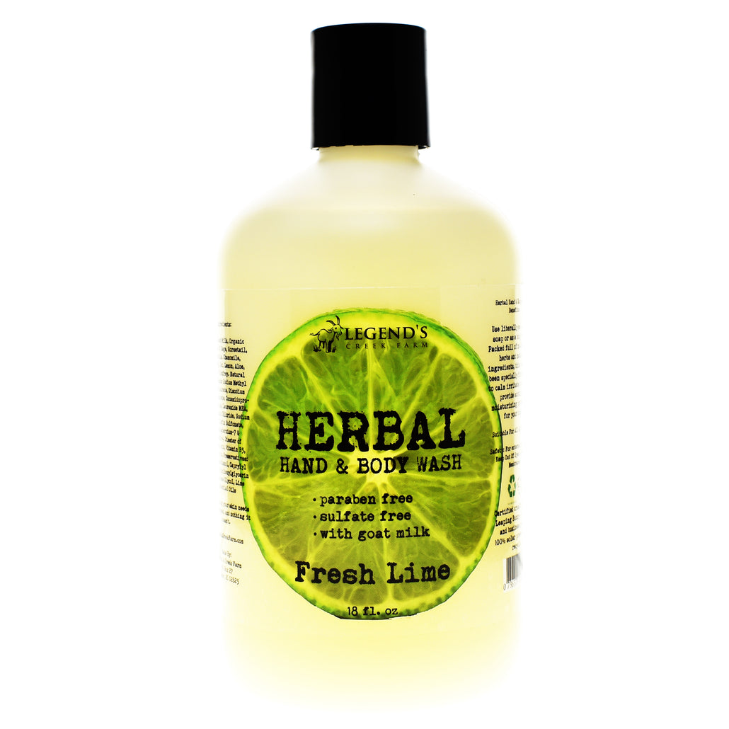 Fresh Lime Liquid Goat Milk Hand Soap & Body Wash