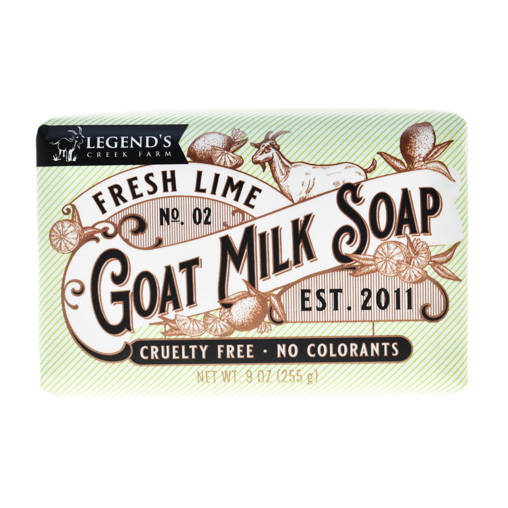 Fresh Lime Triple Milled Goat Milk Soap