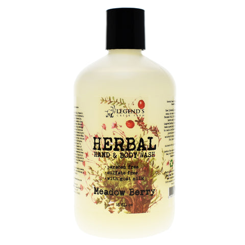 Meadow Berry Goat Milk Body Wash