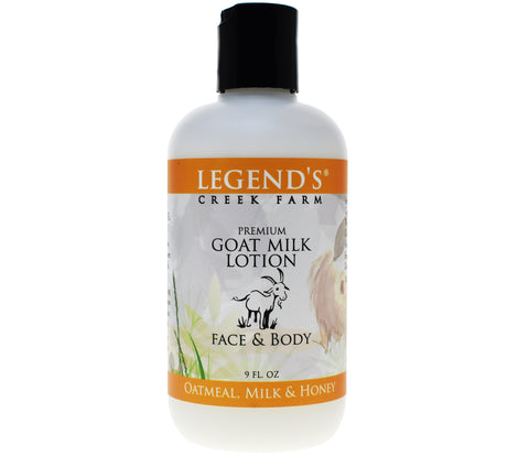 Oatmeal Milk Honey Goat Milk Lotion