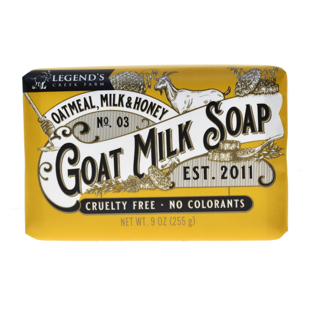 Oatmeal, Milk & Honey Triple Milled Goat Milk Soap