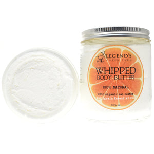 Vegan Sal & Petitgrain Whipped Body Butter