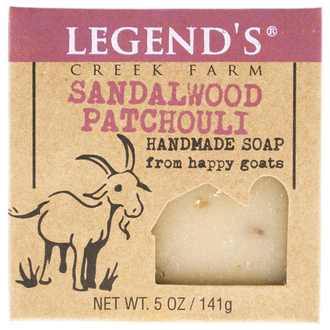 Image of Sandalwood Patchouli Goat Milk Soap