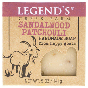 Sandalwood Patchouli Goat Milk Soap