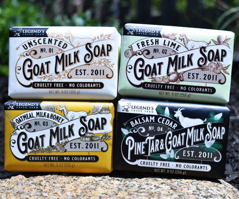 Image of Unscented - Triple Milled Goat Milk Soap - Fragrance Free
