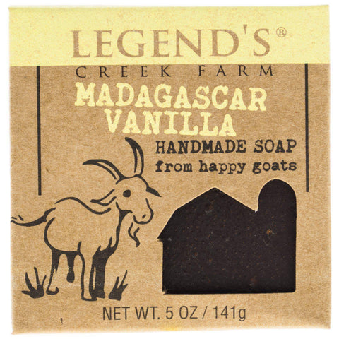 Madagascar Vanilla Goat Milk Soap