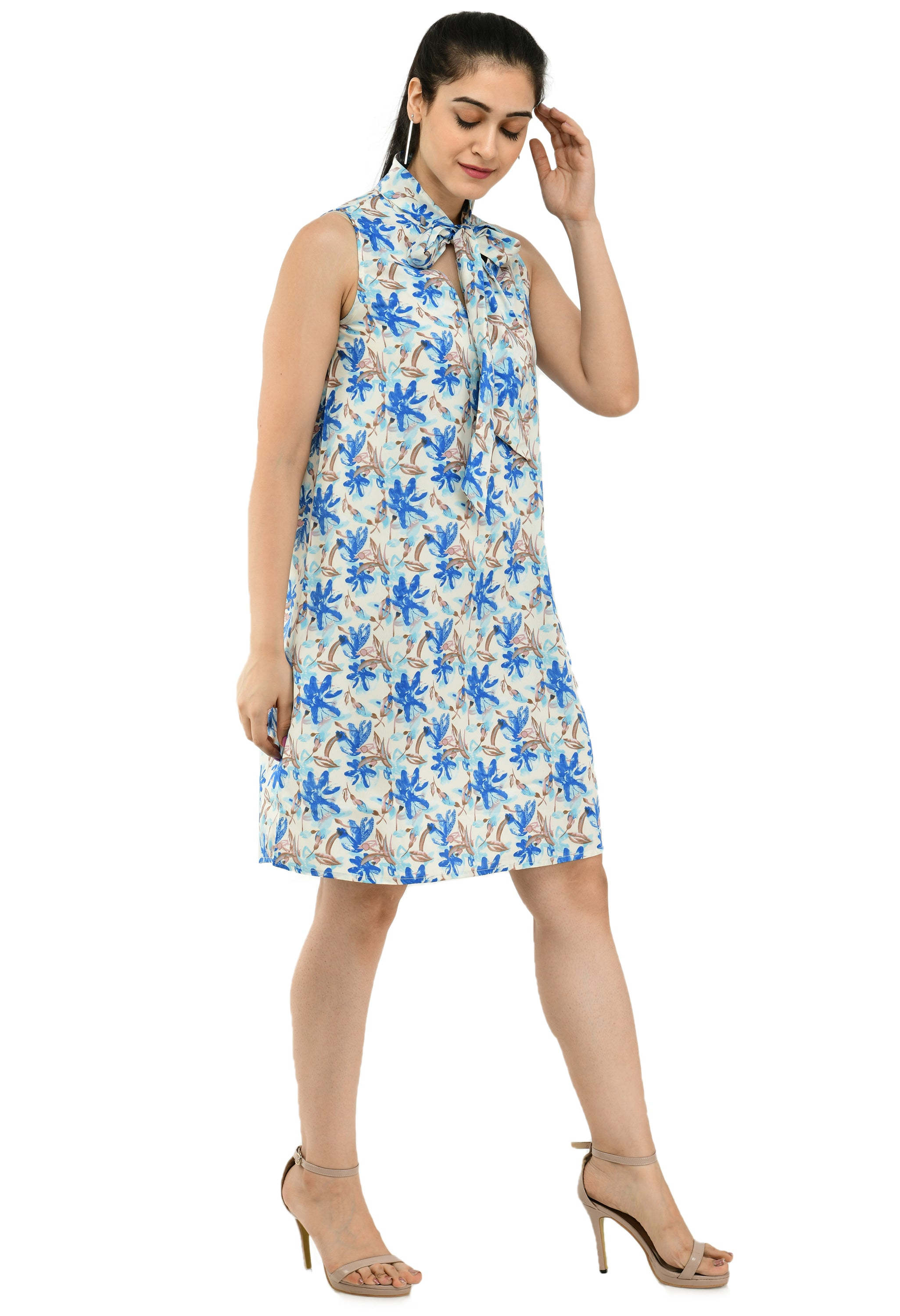 Women Multicolored Floral Printed Dress