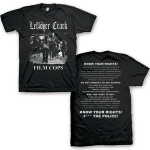 "Leftover Crack ""Film Cops"" T Shirt"
