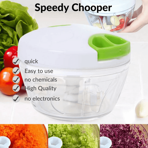 Speedy Chooper | Without Electricity | Quiet And Chemical Free - homeonly24.com