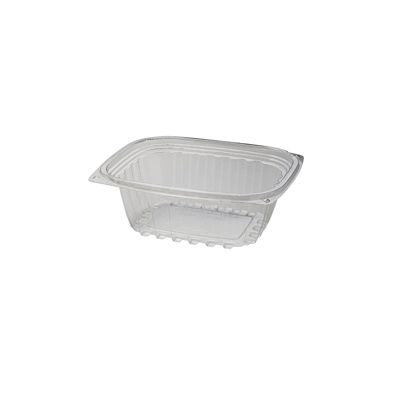 12 oz Compostable Clear PLA Rectangle Deli