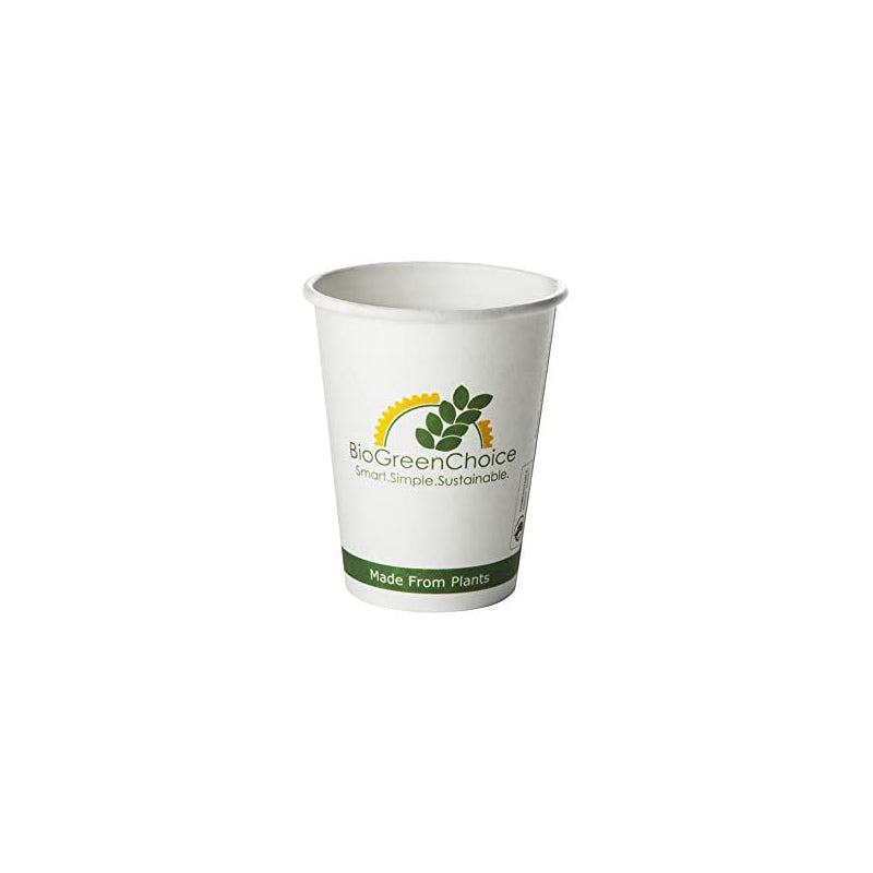 4 oz Compostable Hot Paper Cup W/Bio Lining