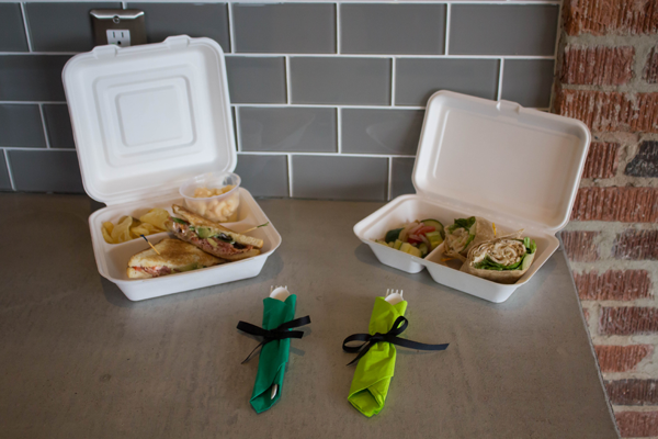 3-Compartment Takeout Container