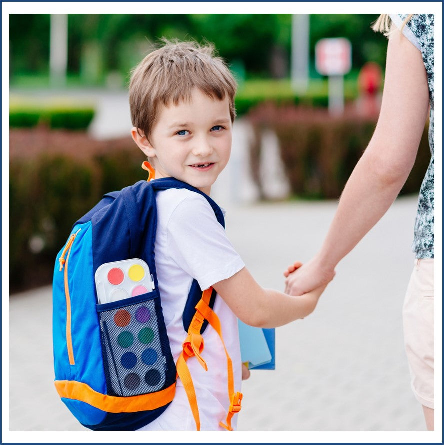 Being Positive to Help Your Child Settle into School