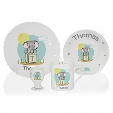 Elephant Safari Breakfast Set - Oh My Gift