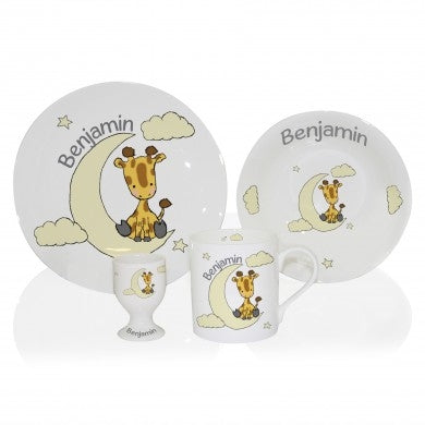 Giraffe Breakfast Set - great gift for kids - Oh My Gift