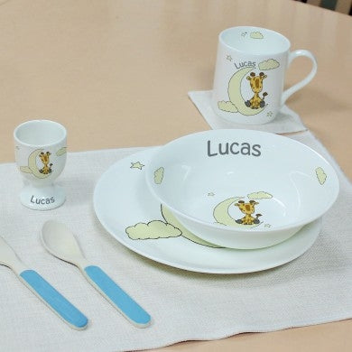 Sweet Dreams Giraffe Breakfast Set - Oh My Gift