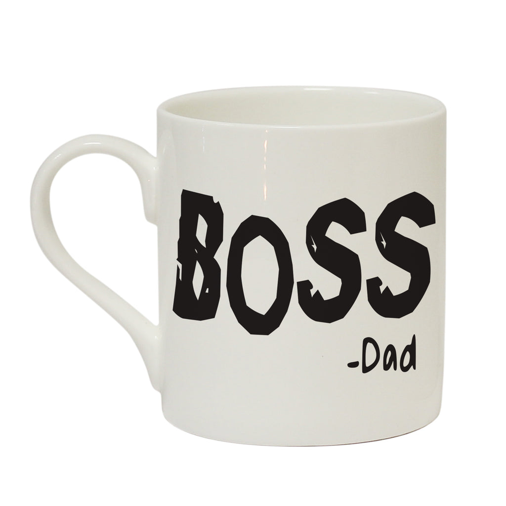 Boss & Mini Boss Duo Mug Set