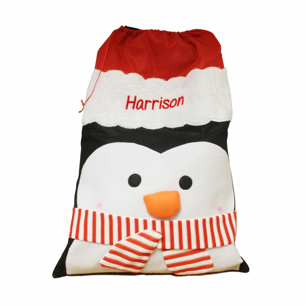 Penguin Plush Sack