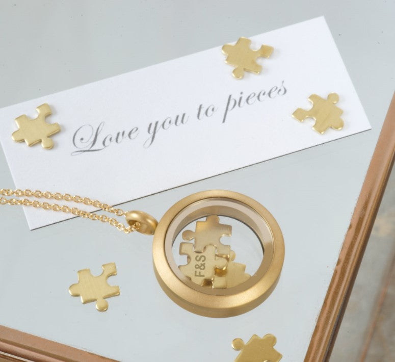 'I Love You To Pieces' Necklace