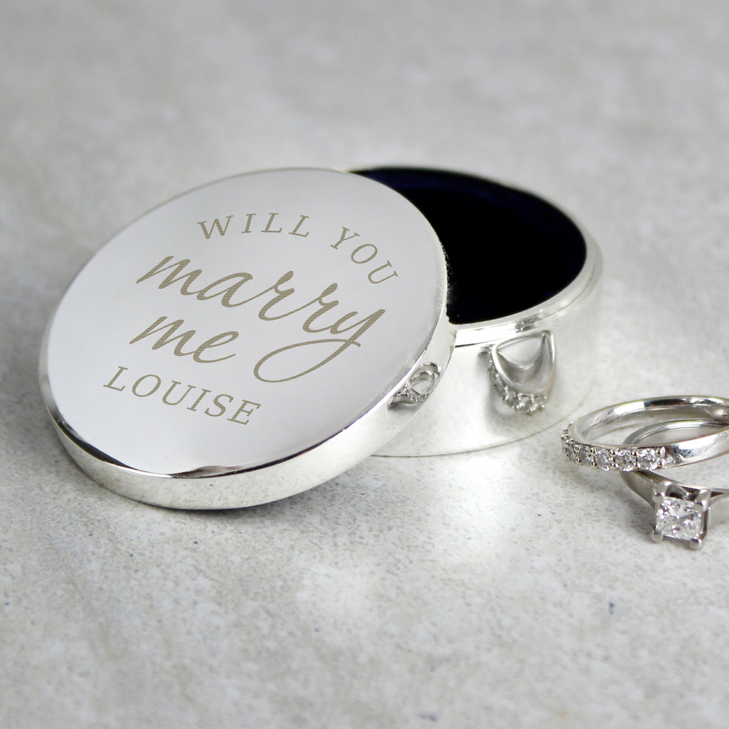 Will You Marry Me Ring Box